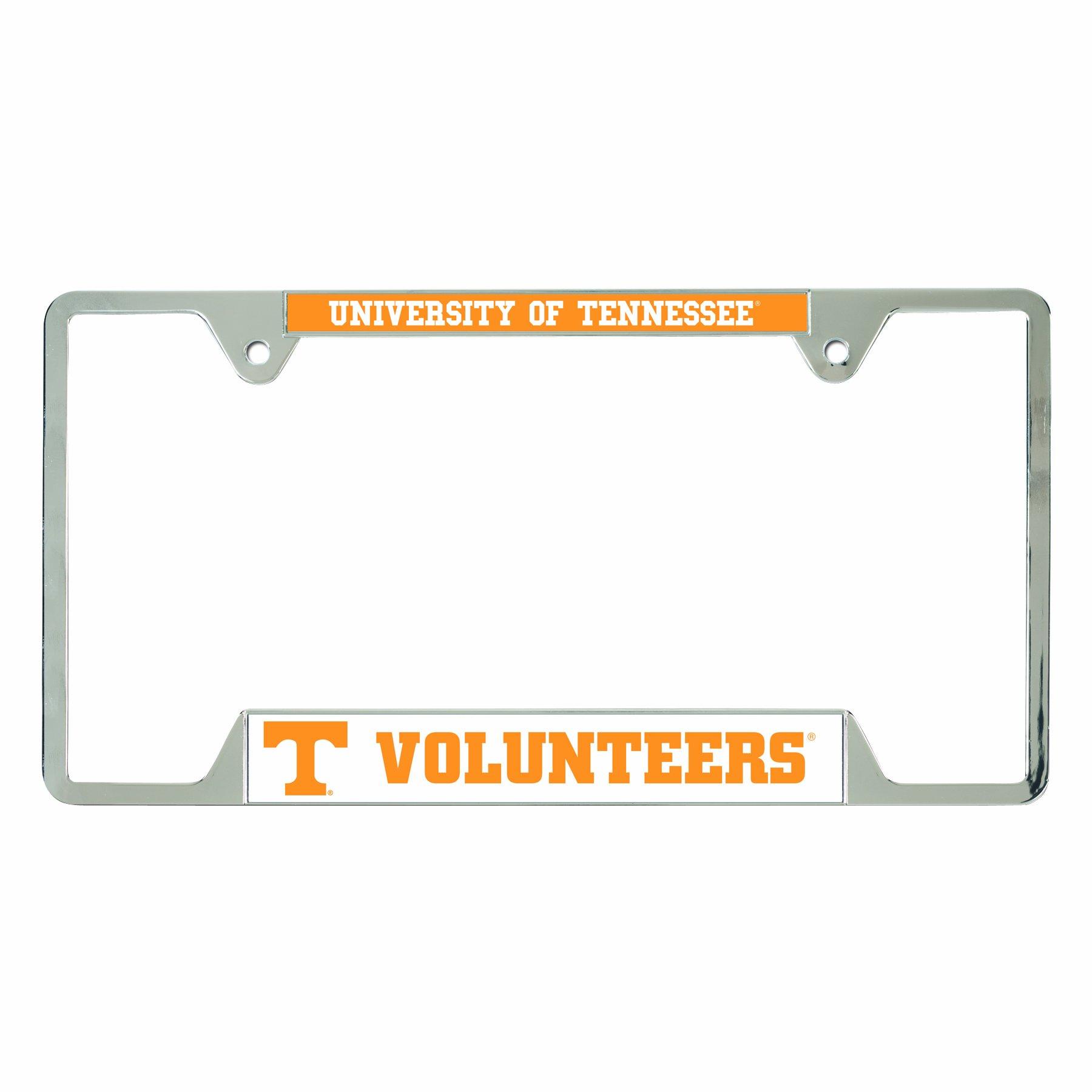 NCAA Tennessee Volunteers Metal License Plate Frame