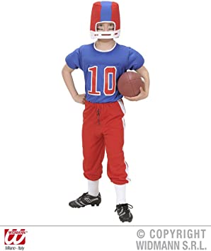 WIDMAN Futbolista de América - Niños Disfraz - Grande - 158cm ...