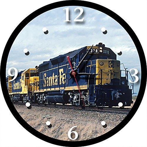 Santa Fe Billboard Paint Scheme Round Clock