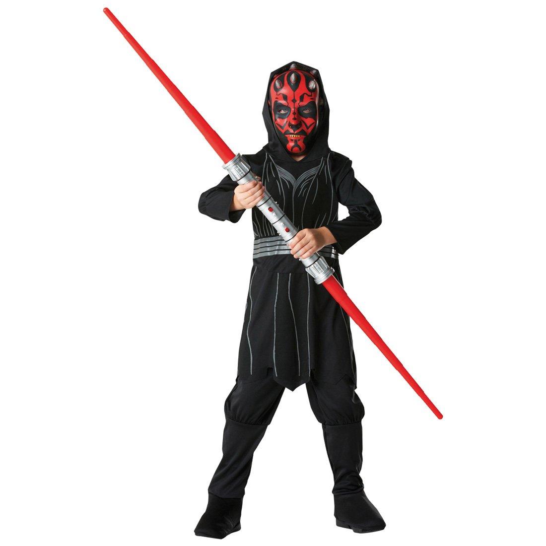 Kinder Kostüm Darth Darth Darth Maul Starwars Sith Lord Kinderkostüm Star Wars Filmkostüm Jediritter Gegner M 5-6 Jahre 972458