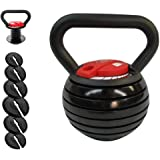 orifam Adjustable Kettlebell Weight Sets for Women and Men,10 Lbs,15 LBs,20 LBs,25 LBs,30 LBs,35 LBs,40 LBs,for Workout…