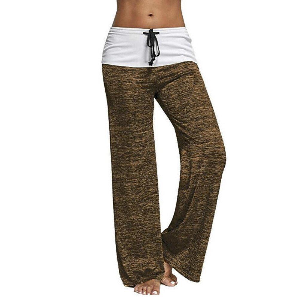 Women's Clothing Honest New Hot Sale Women Wide Leg Long Bohemian Palazzo Casual Stretch Pants Dance Trousers Buy Now Pants & Capris