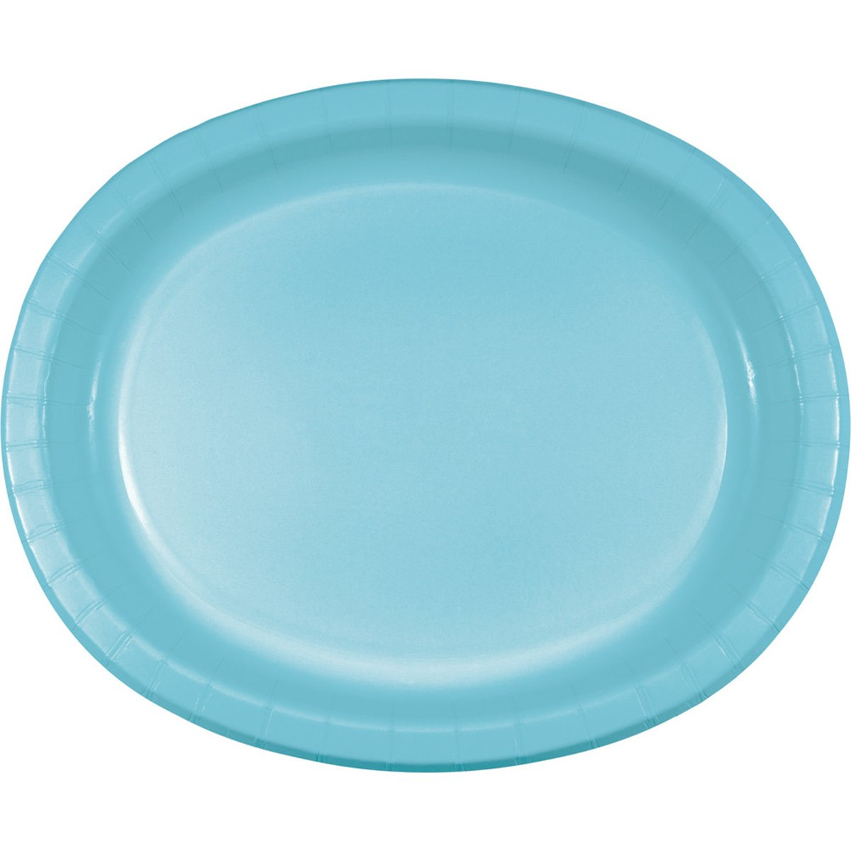 Creative Converting 433279 Oval Platter 10'' x 12'' Navy by Creative Converting (Image #1)