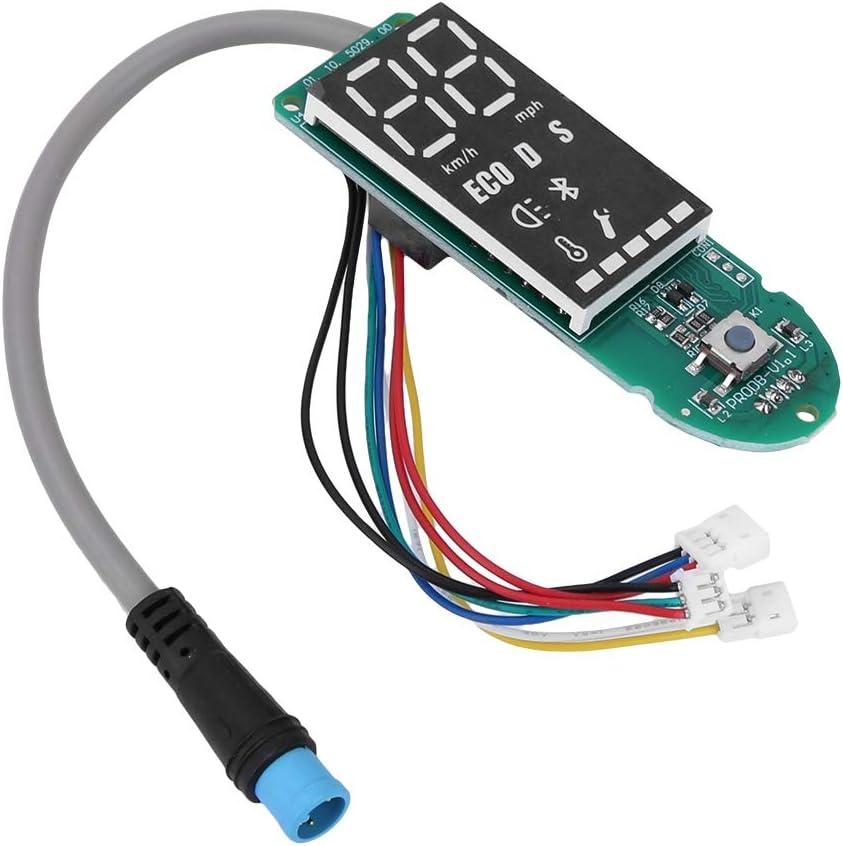Carte de Circuit imprim/é Bluetooth en Plastique et en m/étal et kit de Couverture d/écran Compatible pour Scooter /électrique Xiaomi M365 Pro Biuzi Carte de Circuit imprim/é de Scooter /électrique