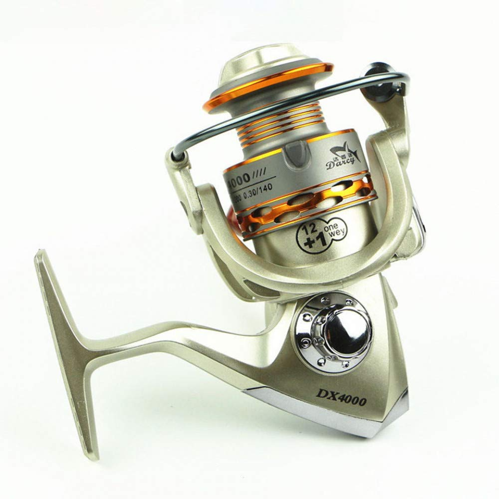 1000 Series  HDYXL-GSY Top Fishing Reels 12 + 1BB RouleHommests à Bille Spinning Reel 5.5  1 Gauche Droite Spinning Reel