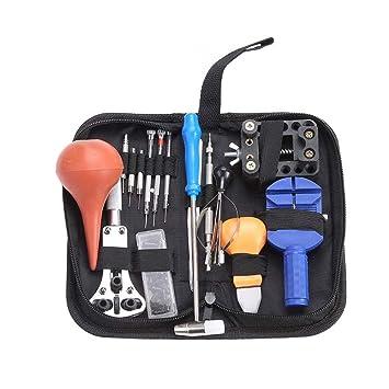 Electrónica Rey Kit de 16 Herramientas de Relojero para la ...