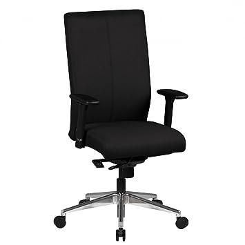 Bürostuhl Ergonomisch Adam 2 8h Stoff Sitz Schwarz Mit Armlehnen
