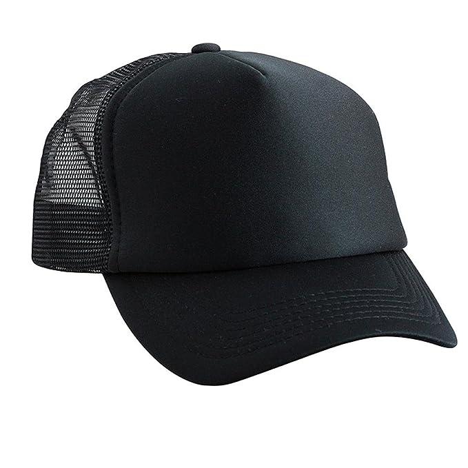 6009a73b7c0 Myrtle Beach - Polyester Mesh Cap for Kids Black Black