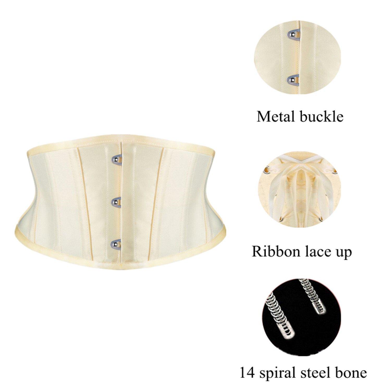 d7fb413ece Kimikal Women Steel Boned Short Torso Underbust Corset at Amazon Women s  Clothing store