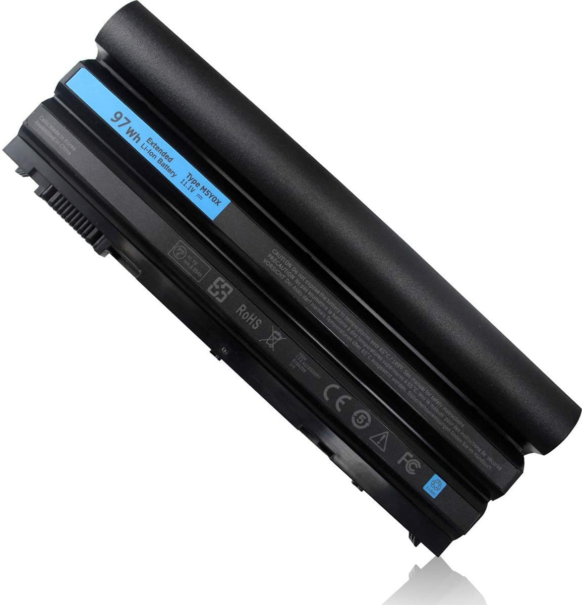 Fully New 11.1V 97WH Replacement Battery Compatible with Dell Latitude E5420 E5520 E5430 E5530 E6420 E6430 E6520 E6530 Inspiron 4420 5420 5425 7420 7520 4720 5720 Vostro 3460 3560 Laptop T54FJ M5Y0X