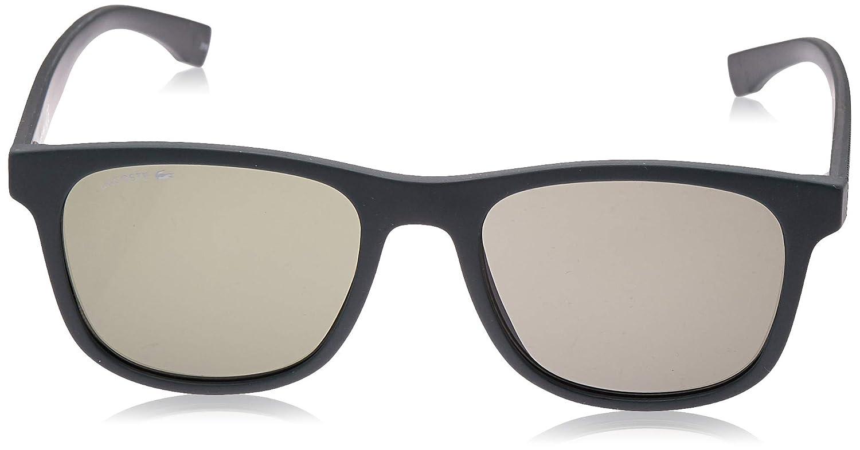 Lacoste Mens L884s L884S-315 Rectangular Sunglasses, MATTE GREEN, 53.11 mm