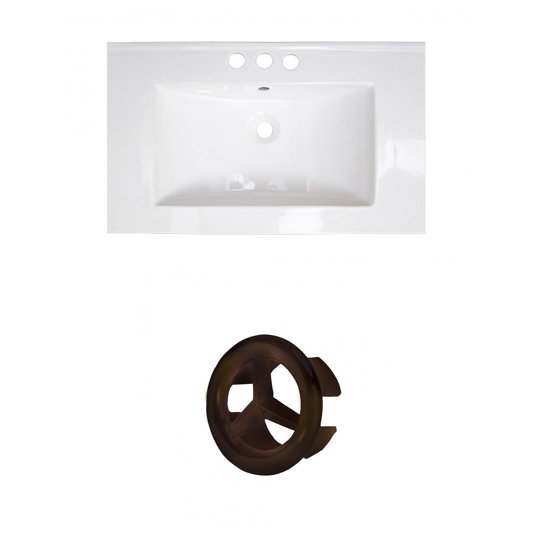 American Imaginations AI-888-20865 Ceramic Top Set White