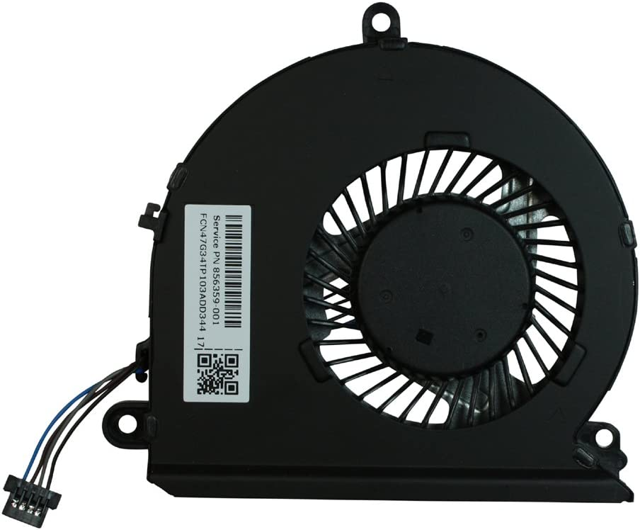 Power4Laptops Replacement Laptop Fan for HP Pavilion 15-AU063CL, HP Pavilion 15-AU063NR, HP Pavilion 15-AU063TX, HP Pavilion 15-AU064TX, HP Pavilion 15-AU065TX