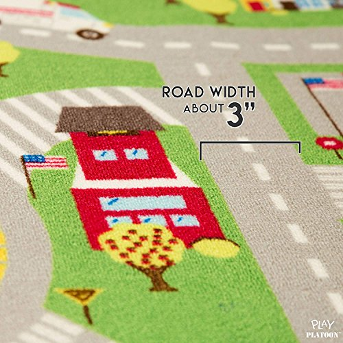 Kids Play Car Rug - Community Carpet Mat Large, 78'' x 39'' by Play Platoon (Image #5)