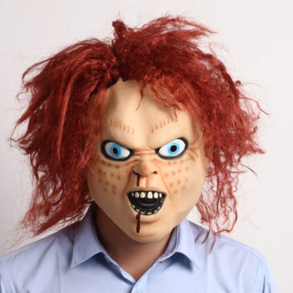 Máscara De Halloween Zombie Utilería Resentido Fantasma Hedging ...
