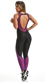e475790b4cd Amazon.com  CAJUBRASIL Sexy Workout Jumpsuit 6279 Force