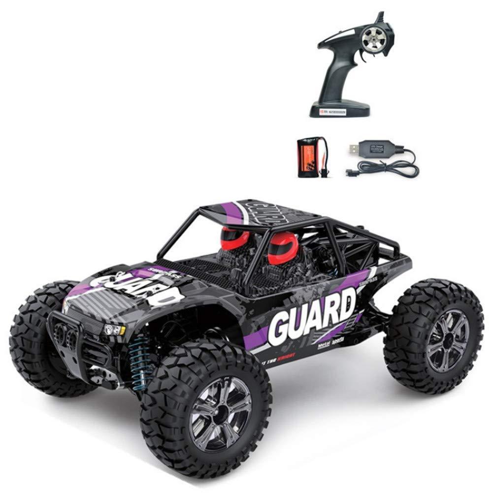 Purple Ocamo 1 14 Electric 2.4Ghz Bg1520 4 Wheels Drive Metal Differential Straight Bridge Remote Control Car Toy Purple