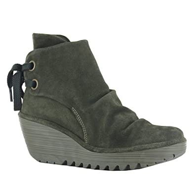 83299aac Fly London Yama Sludge Leather Womens Boots Size 40 EU: Amazon.co.uk: Shoes  & Bags