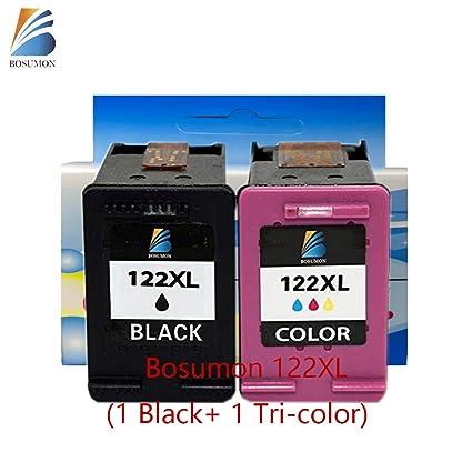 bosumon 1 negro + 1 tricolor cartucho de tinta ...