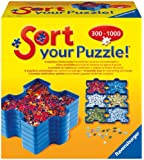 Ravensburger - Recipiente guarda piezas puzzles Sort & Go (17934 3)