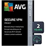 AVG Secure VPN 2020   5 Devices, 2 Years [PC/Mac/Mobile Download]