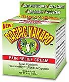 Raging Kakapo Pain Relief Cream 4 Ounce-Joint Pain, Arthritis, Knee Pain, Tennis Elbow, Back Pain, Fibromyalgia, Plantar Fasciitis, Carpal Tunnel, Sore Muscles