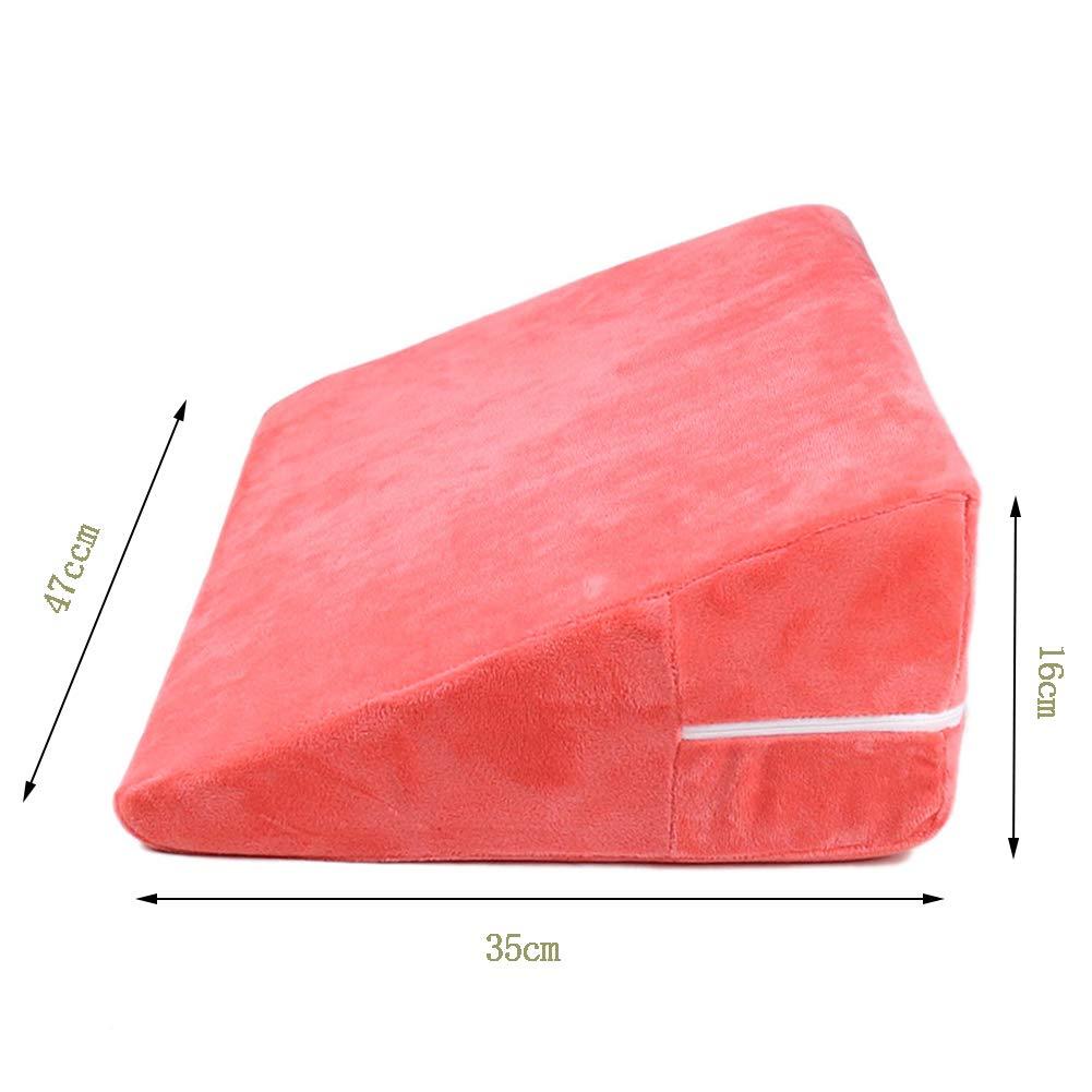 Triángulo Almohada Sofá Suave Muebles Super Suave Postura ...