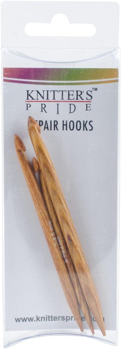 Knitters Pride KP800196 Repair Hooks Set of 3 Brown