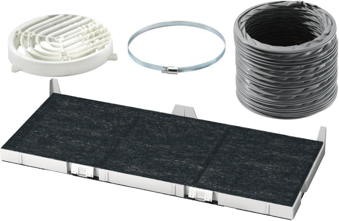 Bosch DSZ4565 Kit de reciclaje accesorio para campana de estufa - Accesorio para chimenea (Kit de reciclaje, Bosch, 620 g, 15 cm)