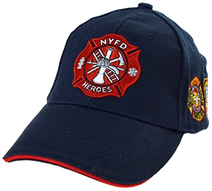 332b2154ad816 topt mili Casquette Pompier New York NY Americaine us USA brodée nyfd  Policier