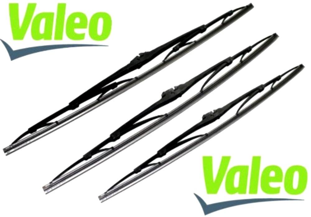 VALEO: Juego de 3 escobillas limpiaparabrisas delantero y trasero: Amazon.es: Coche y moto