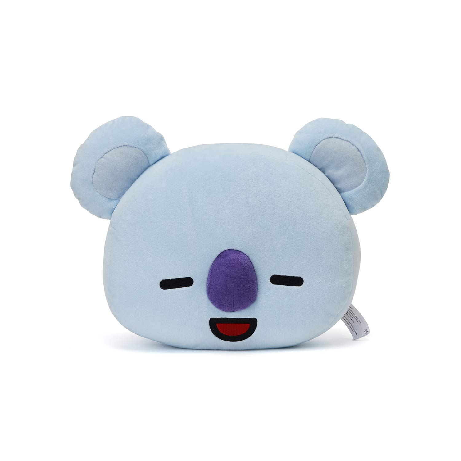 LINE FRIENDS BT21 Official Merchandise KOYA Smile Decorative Throw Pillows Cushion, 16.5 Inch