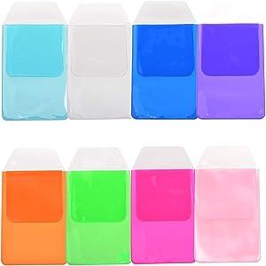 KLOUD City Assorted Colors Pocket Protector for Pen Leaks (8pcs different color)