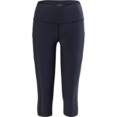 4f04b9ae8344a Vogo Activewear Performance Capri with Mesh and Side Pocket - Women's at  Amazon Women's Clothing store: