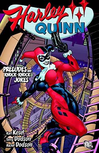 Harley Quinn: Preludes and Knock Knock Jokes (Halloween Trivia Games For Adults)