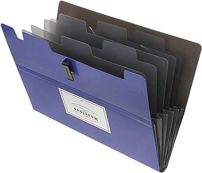 Presentation Folder Portfolio Menu 12 x A5 40 Pocket Black Cover Display Book