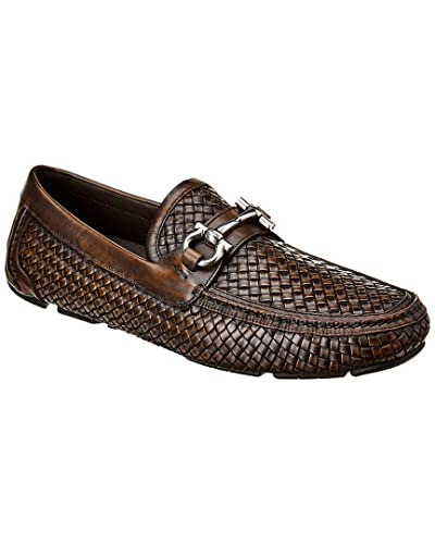 ea2410f9455 Image Unavailable. Image not available for. Color  Salvatore Ferragamo  Gancini Buckle Leather Loafer ...