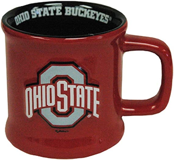 16oz Duck House NFL Seattle Seahawks Ceramic Laser Engraved Coffee Mug Metallic Finish