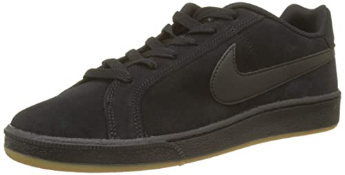 more photos d5251 57e82 Nike Men s Court Royale Suede Fitness Shoes, Black Gum Light Brown 008, 7.5