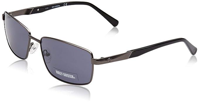 Harley-Davidson HD0928X Gafas de sol, Negro (Shiny Gunmetal ...