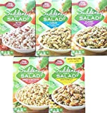 Ranch & Bacon, Caesar, Classic, BLT, Southwest - Suddenly Salad Variety Pack Bundle of 5