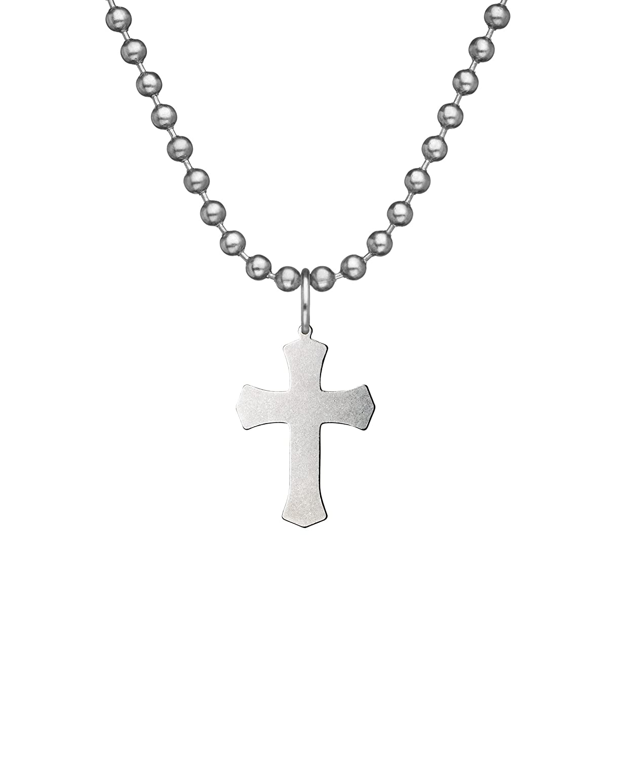 Military Issue WARRIOR CROSS With Beaded Chain - 24""
