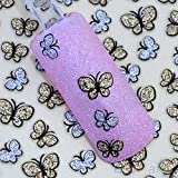 3D Decoration Manicure Kit Glitter Butterfly Nail Stickers Art Decals Tips