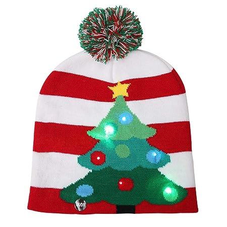 Gorra Brillante LED para Adultos y niños, Sombreros de Bola de ...