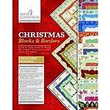 Anita Goodesign Embroidery Designs Premium Collection Christmas Blocks & Borders