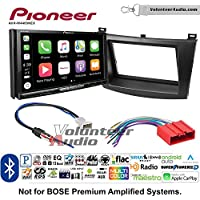 Volunteer Audio Pioneer AVH-W4400NEX Double Din Radio Install Kit with Wireless Apple CarPlay, Android Auto, Bluetooth Fits 2010-2013 Mazda 3