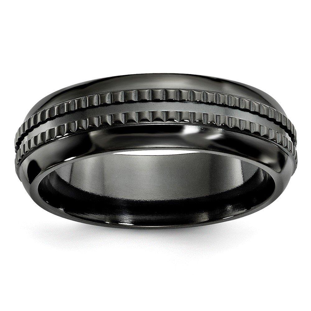 Best Birthday Gift Edward Mirell 7mm Black Ti Kensington Band