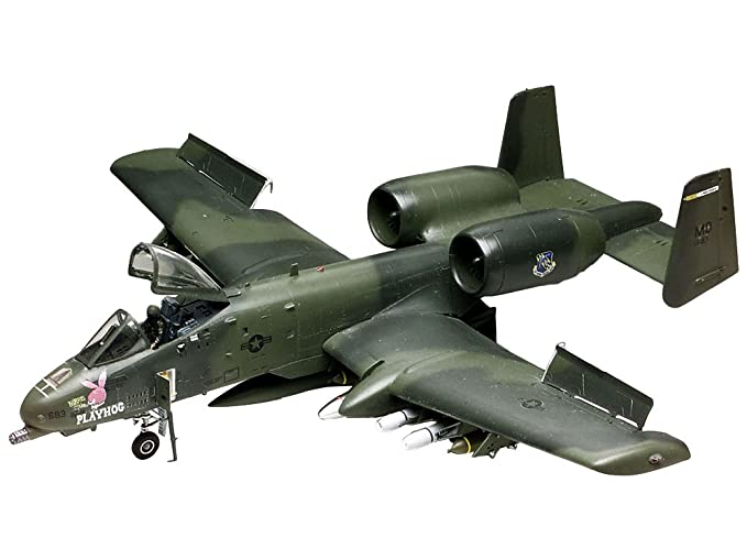 amazon com revell 1 48 a10 warthog toys games