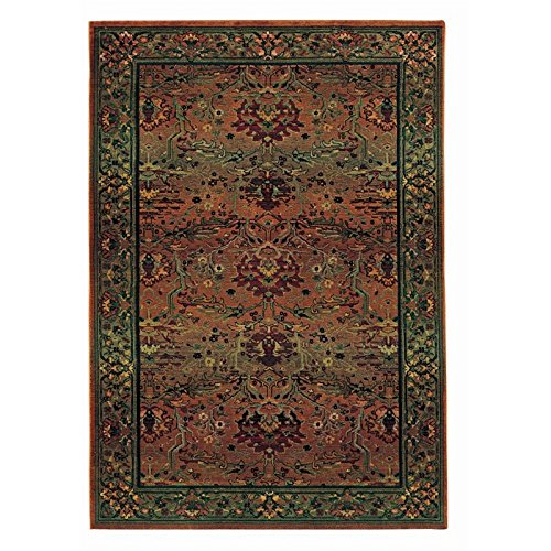 Oriental Weavers Kharma 465J4 Area Rug, 2' x 3', Green