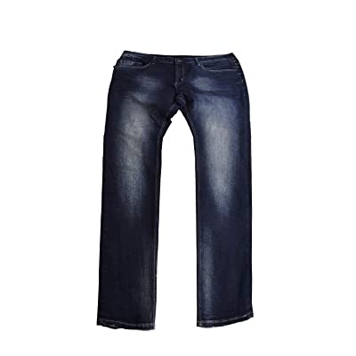 Buffalo David Bitton Men's Slim Fit Ash-X Jeans Blue 42x30 at Men's Clothing store